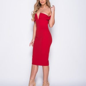 v-front-bardot-bodycon-midi-dress modny.in