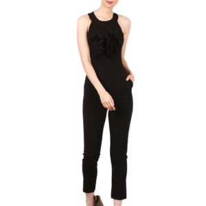 black jumpsuit women online shopping modny.in