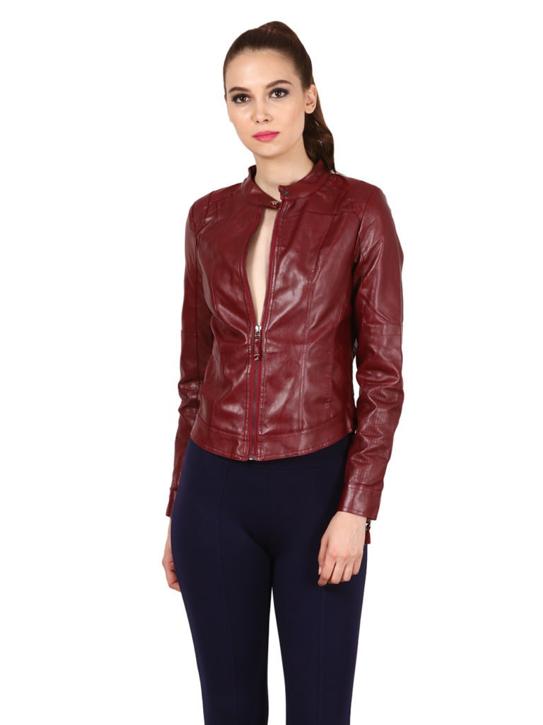 leather jacket women modny.in