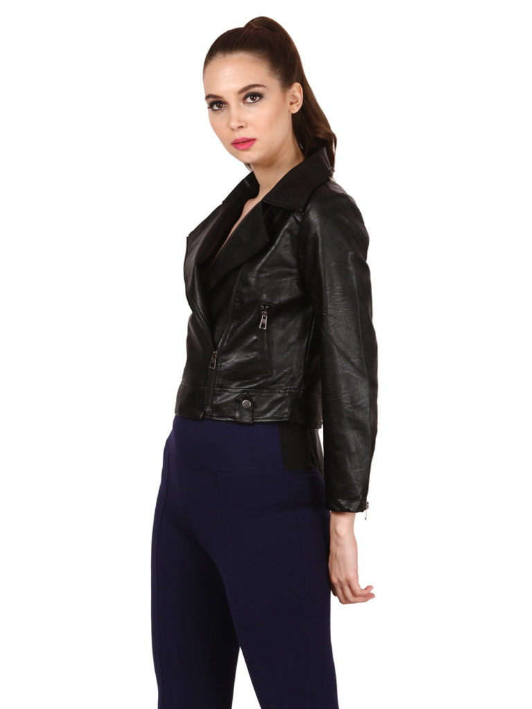 Women leather Jacket modny.in