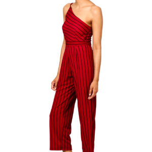 a8abd4a6b9f Red   Black Striped Jumpsuit with Cut-Out Detail. Return to previous page.  Sale. Zoom images
