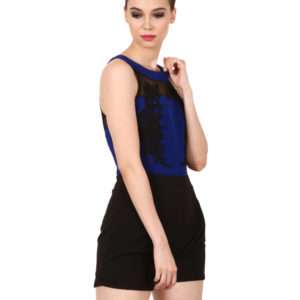 Blue playsuit for women Modny.in